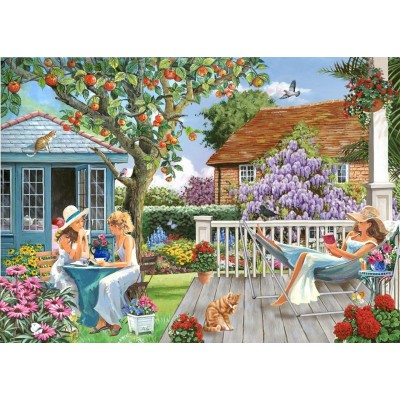 Puzzle  The-House-of-Puzzles-4791 XXL Teile - Darley Collection - Ladies of Leisure