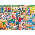 Puzzle  The-House-of-Puzzles-4838 XXL Teile - Darley Collection - Supermarket Dash