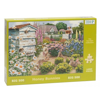 Puzzle  The-House-of-Puzzles-4890 XXL Teile - Honey Bunnies