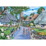 Puzzle  The-House-of-Puzzles-4944 XXL Teile - Sunday Morning