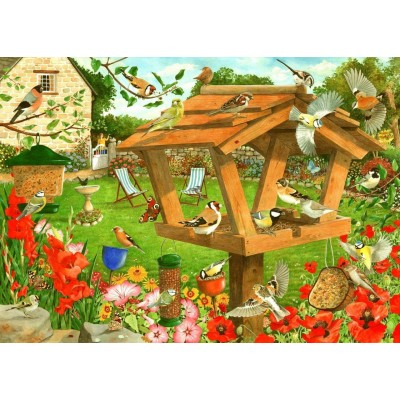Puzzle  The-House-of-Puzzles-5057 Strictly For The Birds