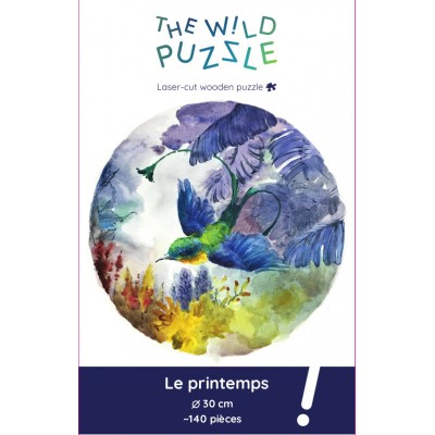 The-Wild-Puzzle-759764 Wooden Puzzle - Spring