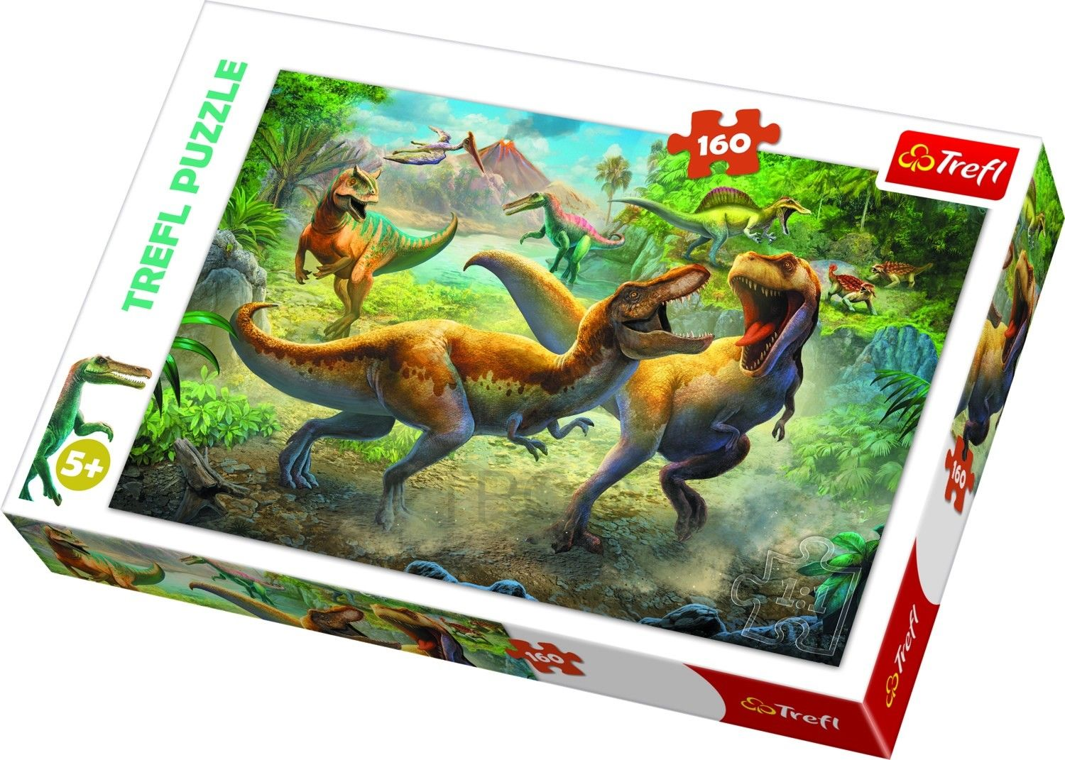 Dinosaurier Puzzle Trefl 160 Teile 74878