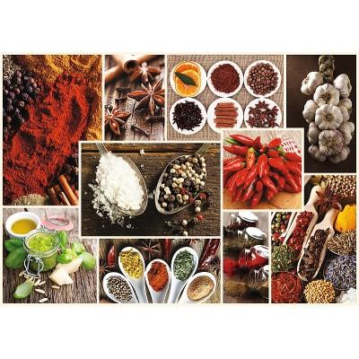 Puzzle Trefl-10470 Collage - Gewürze