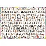 Puzzle  Trefl-10498 208 Katzen
