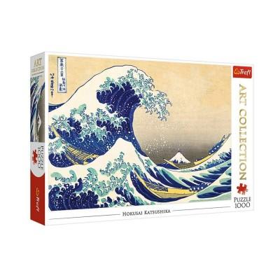 Puzzle  Trefl-10521 Hokusai - The Great Wave of Kanagawa