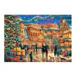 Puzzle  Trefl-10554 Weihnachtsmarkt