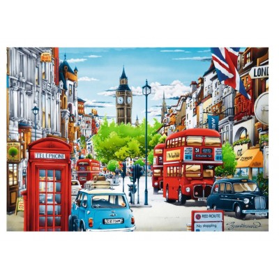 Puzzle Trefl-10557 London