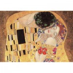Puzzle  Trefl-10559 Gustav Klimt - The Kiss