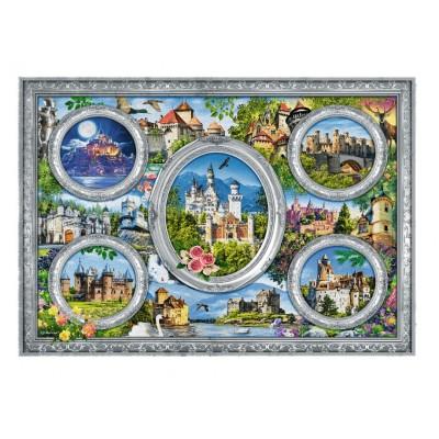 Puzzle Trefl-10583 Schlösser der Welt