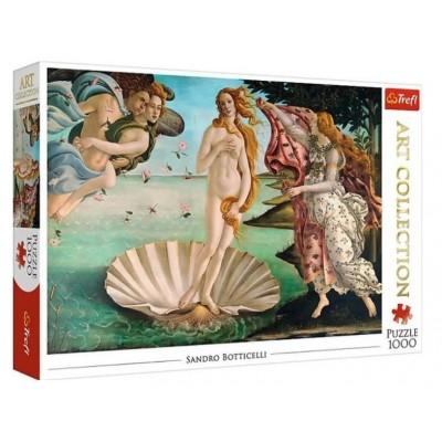 Puzzle  Trefl-10589 Sandro Botticelli - Die Geburt der Venus