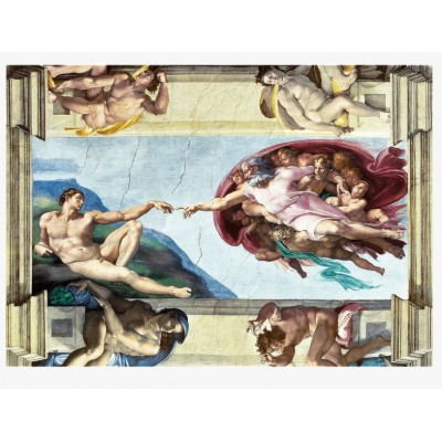 Puzzle Trefl-10590 Michel Ange : The Creation of Adam