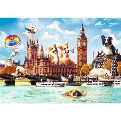 Puzzle  Trefl-10596 Sweet London
