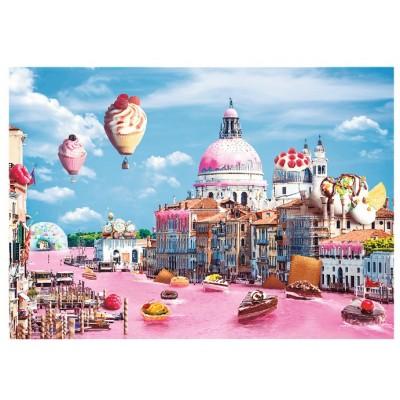 Puzzle Trefl-10598 Süßigkeiten in Venedig