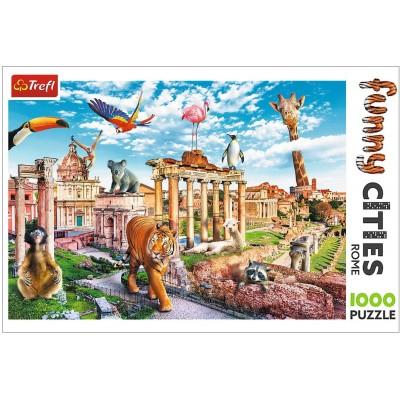 Puzzle Trefl-10600 Funny Cities - Rome