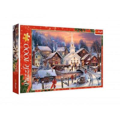 Puzzle Trefl-10602 Weisse Weihnachten