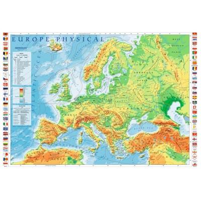 Puzzle Trefl-10605 Europe Physical Map