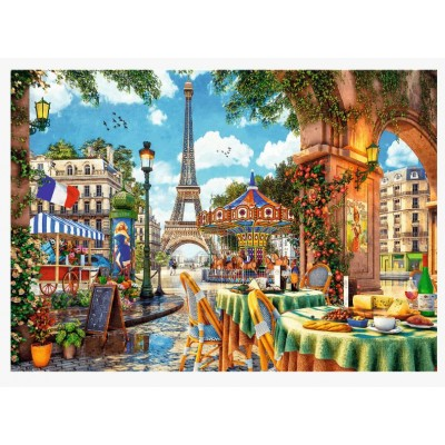 Puzzle Trefl-10622 Parisian Morning