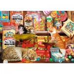 Puzzle  Trefl-10630 Cute Cats