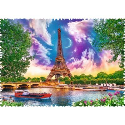 Puzzle Trefl-11115 Crazy Shapes - Sky over Paris