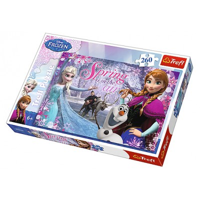 Puzzle  Trefl-13195 Frozen - Die Eiskönigin: Spring is in the Air