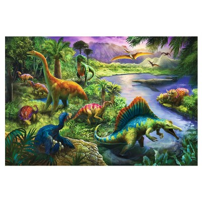 Puzzle  Trefl-13214 Dinosaurier