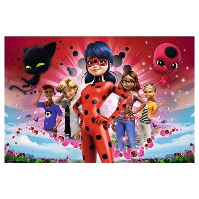 Puzzle  Trefl-13227 XXL Teile - Miraculous - Lady Bug
