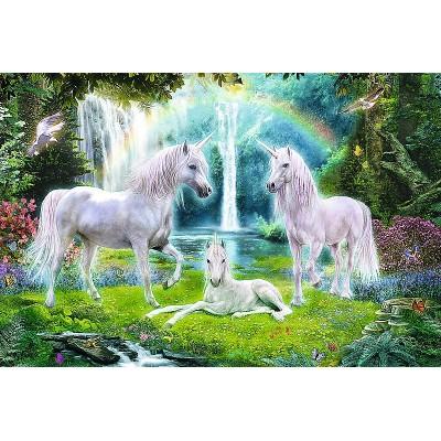 Puzzle  Trefl-13240 XXL Teile - Licornes