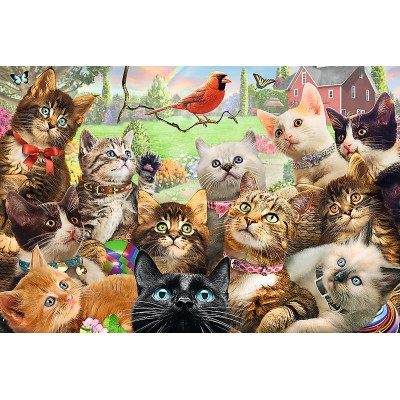 Puzzle Trefl-13241 XXL Teile - Kittens