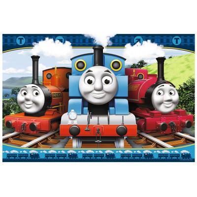 Puzzle  Trefl-14231 XXL Teile - Thomas und seine Freunde: Fröhliche Lokomotiven