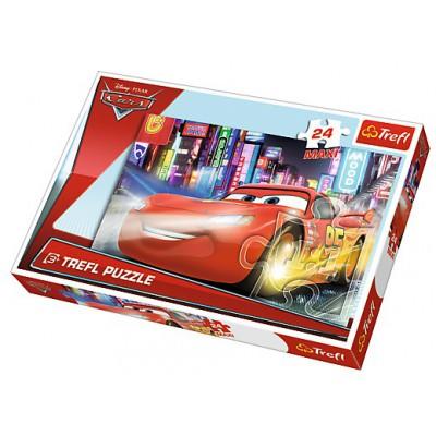 Puzzle  Trefl-14235 XXL Teile - Cars