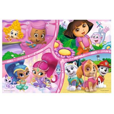 Puzzle  Trefl-14260 XXL Teile - Dora
