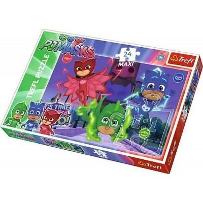 Puzzle Trefl-14262 XXL Teile - PJMasks