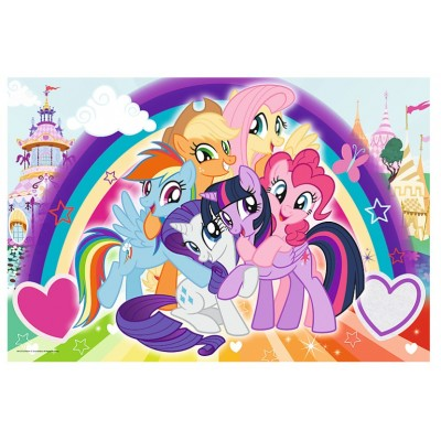 Puzzle  Trefl-14269 XXL Teile - My Little Pony