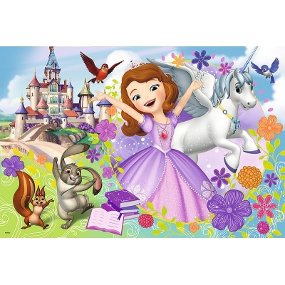 Puzzle  Trefl-14270 XXL Teile - Princess Sofia