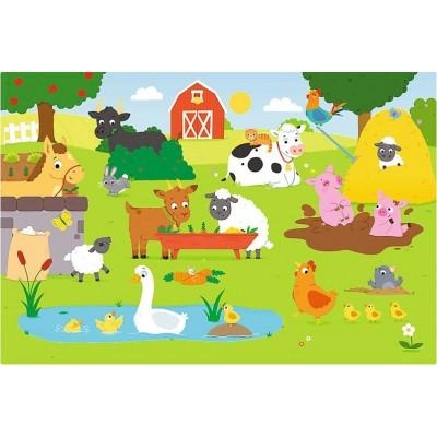 Puzzle  Trefl-14275 XXL Teile - Bauernhof