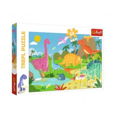 Puzzle Trefl-14284 XXL Teile - Dinosaurier