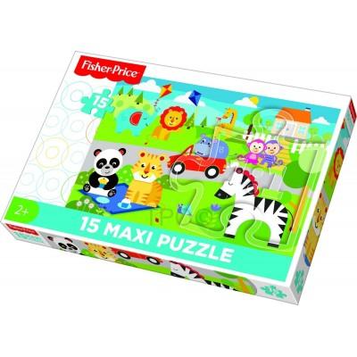 Puzzle Trefl-14286 XXL Teile - Mattel Fisher-Price