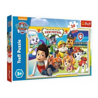 Puzzle  Trefl-14287 XXL Teile - Paw Patrol