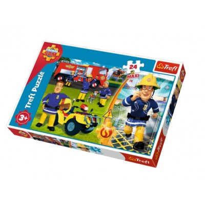 Puzzle  Trefl-14290 XXL Teile - Fireman Sam