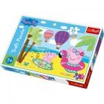 Puzzle  Trefl-14293 XXL Teile - Peppa Pig