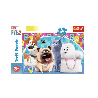 Puzzle Trefl-14296 XXL Teile - The Secret Life of Pets 2
