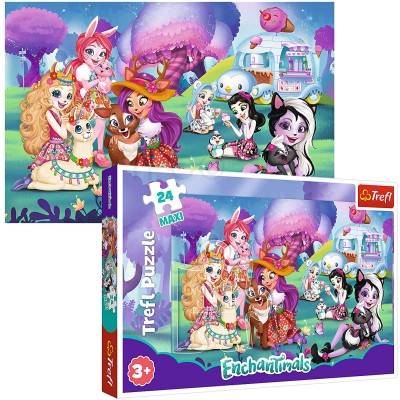 Puzzle  Trefl-14315 XXL Teile - Enchantimals
