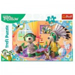 Puzzle  Trefl-14319 XXL Teile - Treflikow