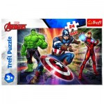 Puzzle  Trefl-14321 XXL Teile - Disney Marvel The Avengers