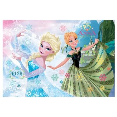 Puzzle Trefl-14811 Frozen: Die Eiskönigin - Elsa und Anna