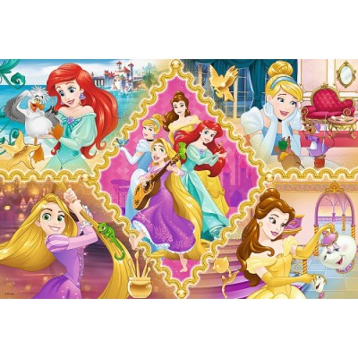 Puzzle  Trefl-15358 Disney Princess