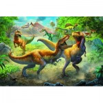 Puzzle  Trefl-15360 Dinosaurier