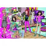 Puzzle  Trefl-15362 Mattel, Barbie