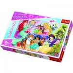 Puzzle  Trefl-15364 Disney Princess